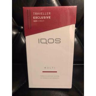 アイコス(IQOS)のIQOS3 MULTI マルチ ラディアンレッド 免税店限定カラー(タバコグッズ)