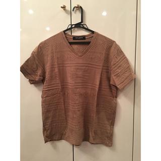 ナノユニバース(nano・universe)のナノユニバース Vネック Tシャツ M メンズ(Tシャツ/カットソー(半袖/袖なし))
