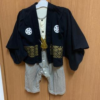 ベビー袴 サイズ90 ロンパース(和服/着物)