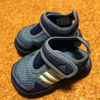 アディダス(adidas)の新品 adidas サンダル 12㎝(サンダル)