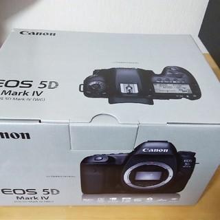 キヤノン(Canon)のCANON EOS 5D MarkIV ボディ EOS5DMK4(デジタル一眼)