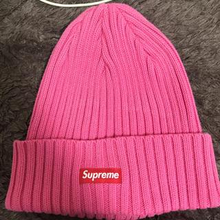 シュプリーム(Supreme)のsupreme シュプリーム ビーニー ニット帽(ニット帽/ビーニー)