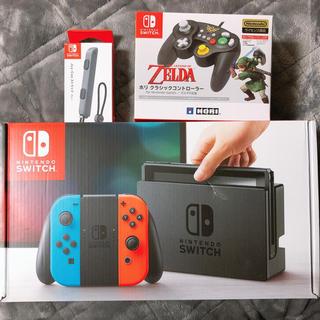 ニンテンドースイッチ(Nintendo Switch)のSwitch本体+ゼルダホリコン(家庭用ゲーム本体)