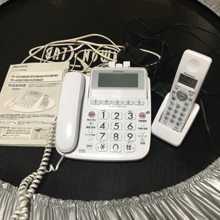 パイオニア(Pioneer)のコードレス電話機 パイオニア TF-EV350D(その他 )