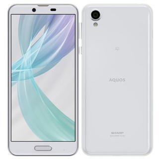 シャープ(SHARP)のAQUOS sense plus SH-M07 ホワイト SIMフリー(スマートフォン本体)