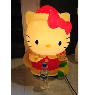 ハローキティ(ハローキティ)のクリスマスオブジェ キティちゃん 電気付きます。(キャラクターグッズ)