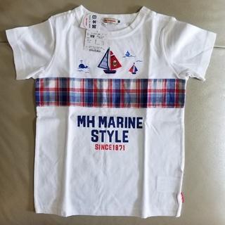 ミキハウス(mikihouse)のプッチーヨットモチーフ半袖Tシャツ120(Tシャツ/カットソー)