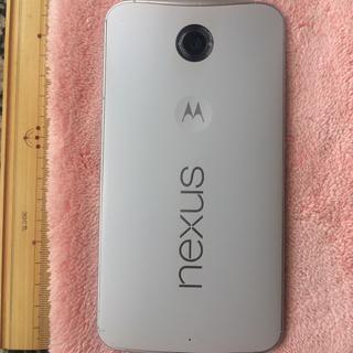 レノボ(Lenovo)のNEXUS6 32gb 白 ワイモバイルSIM FREE(スマートフォン本体)