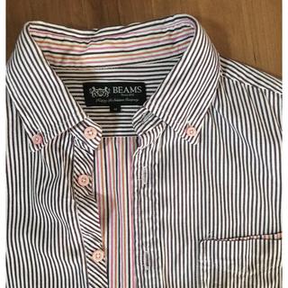 ビームス(BEAMS)のビームス  半袖 ストライプシャツ(シャツ)