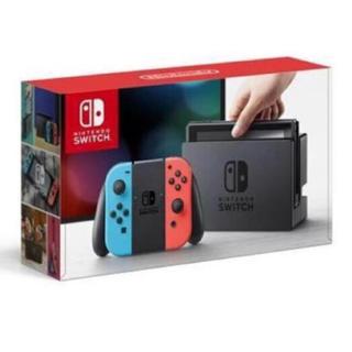 ニンテンドースイッチ(Nintendo Switch)の【新品未開封】ニンテンドースイッチ 本体(家庭用ゲーム本体)
