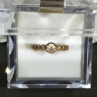 ハート&キューピッド ダイヤリング(リング(指輪))