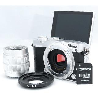 ニコン(Nikon)の☆WiFi搭載でスマホ転送!SDカード付き☆ Nikon ニコン 1 J5(ミラーレス一眼)