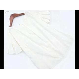 ビームス(BEAMS)の ビームス白トップス(シャツ/ブラウス(半袖/袖なし))