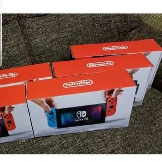 ニンテンドースイッチ(Nintendo Switch)のニンテンドースイッチ 5台ネオン(家庭用ゲーム本体)