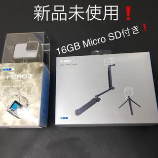 ゴープロ(GoPro)の新品未使用❗️GoPro CHDHB-601-FW 3点セット❗️(ビデオカメラ)