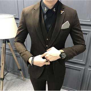 セットアップ 無地 スーツメンズ 紳士 スーツジャケット 着痩せzb372(セットアップ)