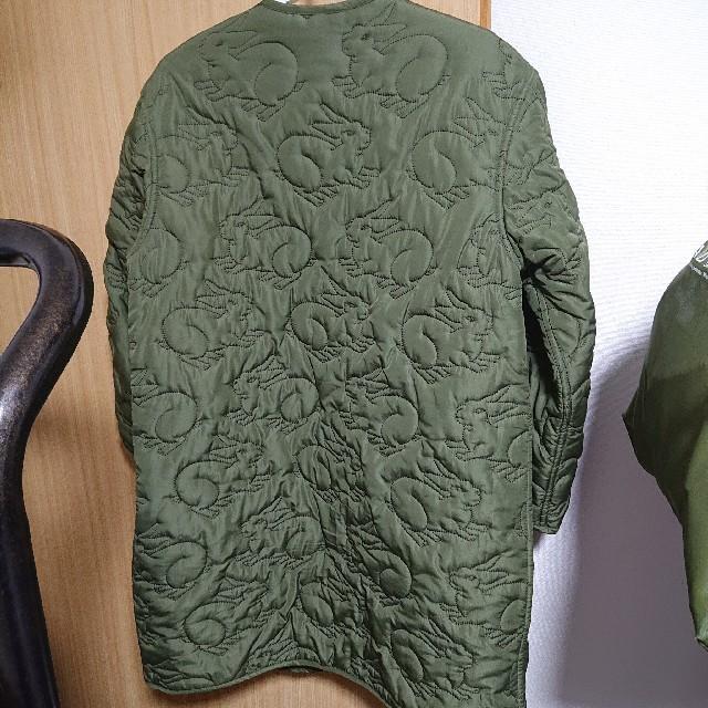 didizizi(ディディジジ)のdidizizi うさキルティング ミドル丈ジャケット レディースのジャケット/アウター(ブルゾン)の商品写真