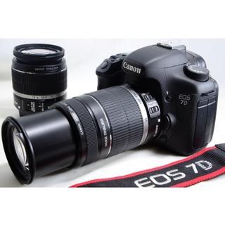 キャノンデール(Cannondale)のキヤノン Canon EOS 7D ダブルズームキット (デジタル一眼)