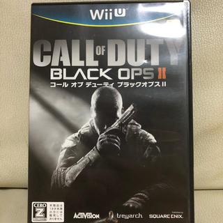 ウィーユー(Wii U)のコールオブデューティー ブラックオプスⅡ(家庭用ゲームソフト)