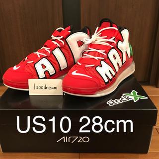 ナイキ(NIKE)の確実正規品 28cm NIKE AIR MORE UPTEMPO 720 QS(スニーカー)