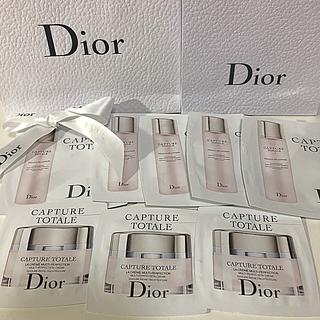 ディオール(Dior)のディオール カプチュールトータルセルラーローション&リッチクリーム(サンプル/トライアルキット)