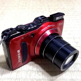 フジフイルム(富士フイルム)の光学15倍ズーム・GPS搭載!【FinePix F550EXR】レッド(コンパクトデジタルカメラ)