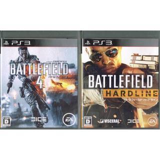 プレイステーション3(PlayStation3)のPS3//送料込/バトルフィールド4+ ハードライン(家庭用ゲームソフト)