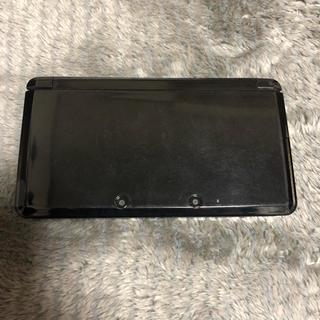 ニンテンドウ(任天堂)のニンテンドー3DS コスモブラック(携帯用ゲーム本体)