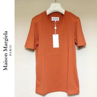 マルタンマルジェラ(Maison Martin Margiela)の新品■50■マルジェラ■17aw■オレンジ ソリッド 無地Tシャツ■5525(Tシャツ/カットソー(半袖/袖なし))