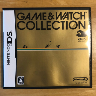 ニンテンドーDS(ニンテンドーDS)のGAME&WATCH コレクション(携帯用ゲームソフト)