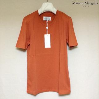 マルタンマルジェラ(Maison Martin Margiela)の新品■54■マルジェラ■17aw■オレンジ ソリッド 無地Tシャツ■5556(Tシャツ/カットソー(半袖/袖なし))