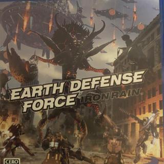 プレイステーション4(PlayStation4)のearth defense force iron rain(家庭用ゲームソフト)