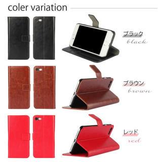 手帳型 レザー iPhoneX (iPhoneケース)