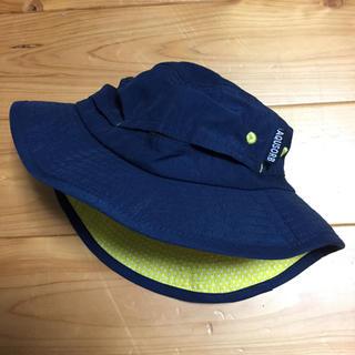 シマムラ(しまむら)の紺色 アウトドア 帽子 UV 50センチ 美品(帽子)