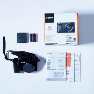 ソニー(SONY)のSONY α6000 ミラーレス一眼カメラ(ミラーレス一眼)