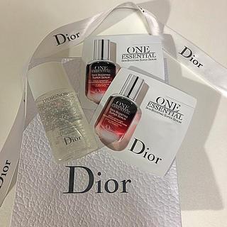 ディオール(Dior)のディオールスノー&ワンエッセンシャル サンプル (サンプル/トライアルキット)