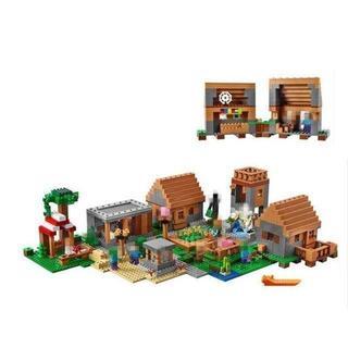 LEPIN社 1673ピース マインクラフト マイクラ 建築 村 Village(模型/プラモデル)