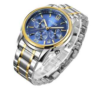バカ売れ★GuTe出品 腕時計 クォーツ メンズ 夜光 クロノグラフ(腕時計(アナログ))