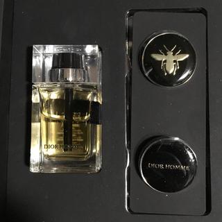 ディオールオム(DIOR HOMME)の《新品未使用》dior homme 香水&ピンバッチセットBOX(バッジ/ピンバッジ)