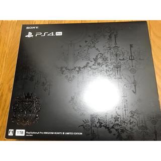 プレイステーション4(PlayStation4)のPlayStation4pro キングダムハーツエディション 本体1TB PS4(家庭用ゲーム本体)