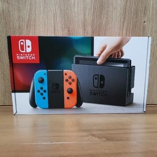 ニンテンドースイッチ(Nintendo Switch)のNintendo Switch ネオン 新品未使用(家庭用ゲーム本体)