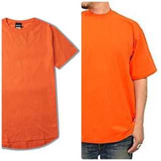 レイヤード✨ Tシャツ メンズ ストリートオレンジ(Tシャツ/カットソー(半袖/袖なし))