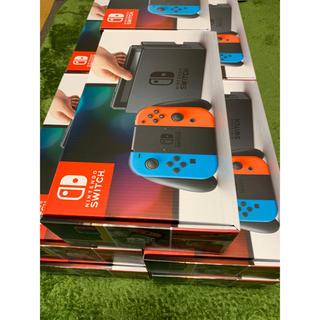 ニンテンドースイッチ(Nintendo Switch)の新品 10台 NINTENDO Switch ネオンブルー ネオンレッド(家庭用ゲーム本体)
