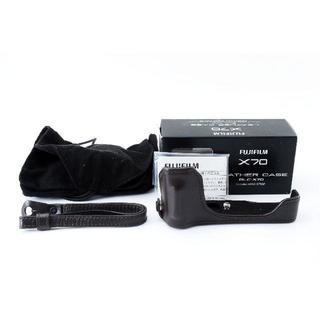 フジフイルム(富士フイルム)の★純正★FUJIFILM BLC-X70 レザーケース X70用(コンパクトデジタルカメラ)