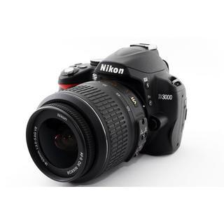 ニコン(Nikon)の★撮影ガードモード搭載♪WiFiカード付き★ニコン D3000 レンズキット(デジタル一眼)