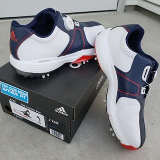 アディダス(adidas)のadidasゴルフシューズ 26.0cm 360トラクションボア(シューズ)