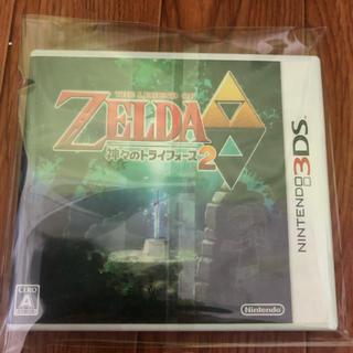 ニンテンドー3DS(ニンテンドー3DS)のゼルダのみ伝説神々のみトライフィース(携帯用ゲームソフト)