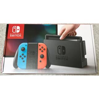 Nintendo Switch 本体 新品未開封 送料無料 ネオン 2台 (家庭用ゲーム本体)