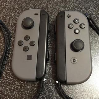 ニンテンドースイッチ(Nintendo Switch)の4月24日まで出品!ジョイコン  グレーLR 中古美品 訳あり☆無言申請お断り!(その他)
