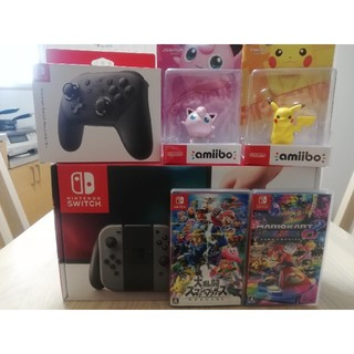 ニンテンドースイッチ(Nintendo Switch)の新品Nintendo Switch 他まとめ売り(家庭用ゲーム本体)